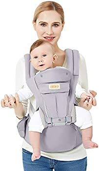AOXO 3D Baby Hip Carrier All Season Baby Sling with 9 Carry Positions