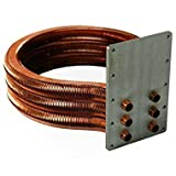 Pentair 77707-0232 Tube Sheet Coil Assembly Replacement Kit Pool and Spa Heater
