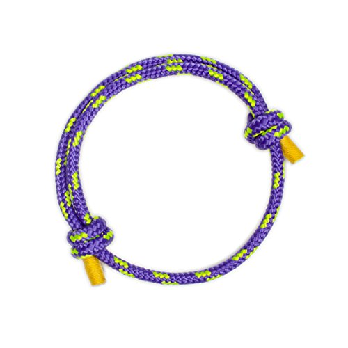 Wind Passion Purple Nautical Braided Bracelet for Men