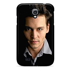 Galaxy S4 Case Cover - Slim Fit Tpu Protector Shock Absorbent Case (johnny Depp)