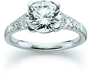 Plata de ley 925 anillo para mujer VIVENTY/000 fina con rodio incumpliéndose 764211