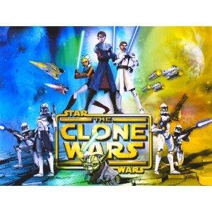 1/4 Sheet ~ Star Wars Clone Wars Collage Birthday ~ Edible Image Cake/Cupcake Topper!!!
