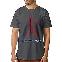 NCKG Men's The Blair Witch Project Short Sleeve T Shirtsi, Color DeepHeatherSize L