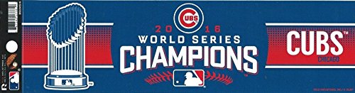 Chicago World Champions Bumper Sticker product image