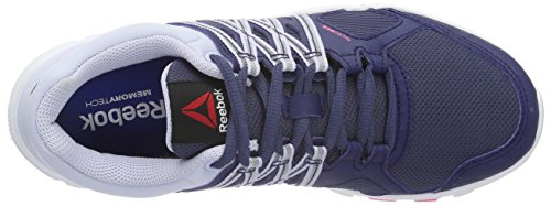 Reebok Yourflex Trainette 8.0, Zapatillas de Gimnasia para Mujer Azul  (Blue Ink / Lucid Lilac / White / Posionpink)