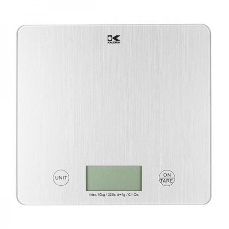 Merveilleux Kalorik Digital Kitchen Scale (Silver)
