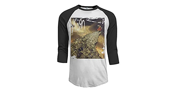 JeremiahR Nightwish Endless Forms Most Beautiful Mens 3//4 Sleeve Raglan Baseball T Shirt Black