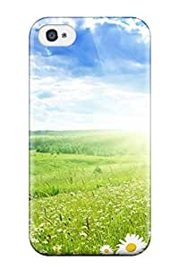 Nick Watson's Shop 2015 New Arrival Case Specially Design For Iphone 4/4s (pretty Greenfield)