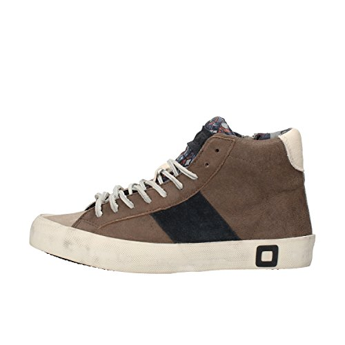 D.A.T.E. Sneakers Donna 37 EU Marrone Pelle Camoscio AF417-B iDYeqWho9t