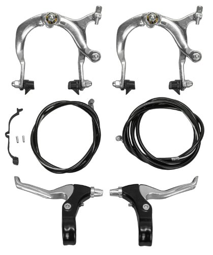 Sunlite MX Side Pull Brake Set, 69 - 96mm Reach, Silver