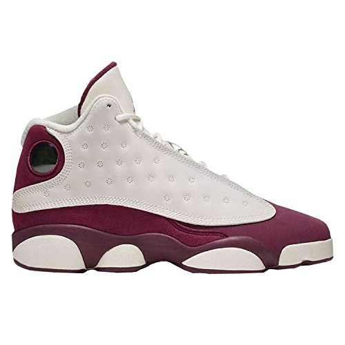 Jordan Air Retro 13 GG Wolf Grey lifestyle Sail/Metallic Red Bronze-bordeaux