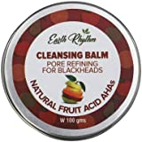 Soapworks Pore Refining Cleansing Balm with Natural Fruit Acids, AHAs, For Acne Prone Skin, Certified Natural, Plastic Free - 100 GM
