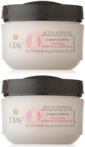 Olay Active Hydrating Cream, 2 Ounce (Pack of 2) ()
