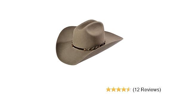 Stetson Mens Stone Portage 4X Buffalo Felt Cowboy Hat - Sbprtg-724220 Stone  096C13 79917492706