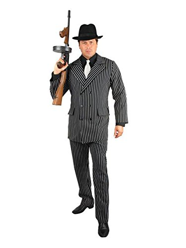 Gangster Adult Costume - X-Large