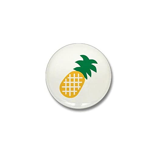 28b160875bf Amazon.com  CafePress Pineapple fruit Mini Button 1