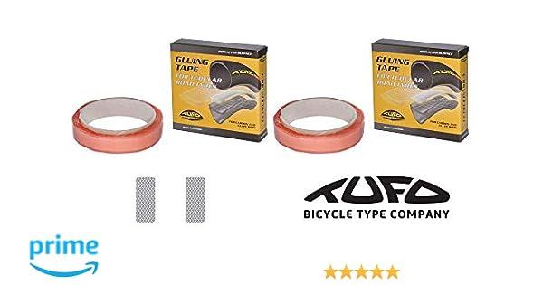 3 Three Pack of TUFO Gluing Tape for Road Bike Tubular Tires 19mm x 2-Meters