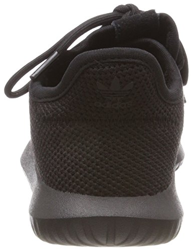 adidas Unisex-Kinder Tubular Shadow C Fitnessschuhe Core Black/Footwear White