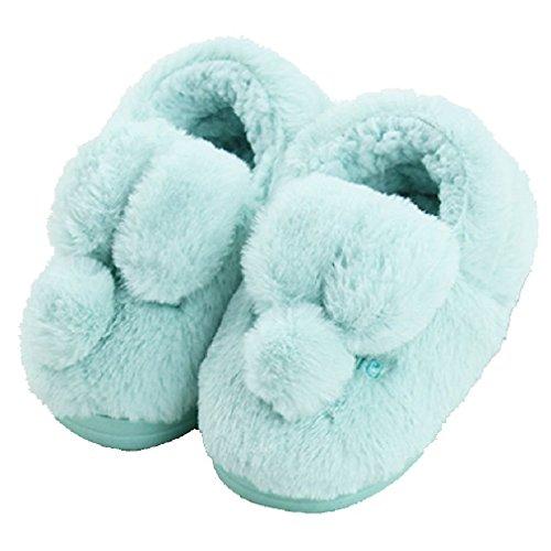 CYBLING Fashion Winter Soft Soled Comfort Non-slip Kids Home Slippers for Little Boys Girls
