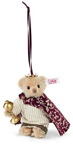 Teddy Bear Melchior Ornament by Steiff