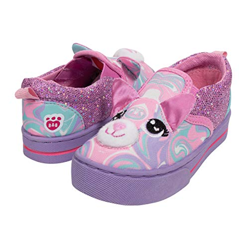 Swirly Girl - Build A Bear 3D Pink Swirly Kitty Girl Shoes