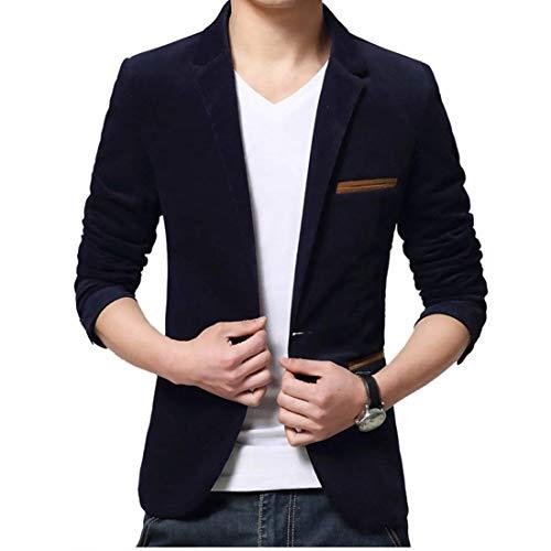 Courtes Longues Hommes Manches Pour Moderne Schwarz Veste Blazer À Casual Casua Business Classique Haidean Courte Vestes PIa84qwCC