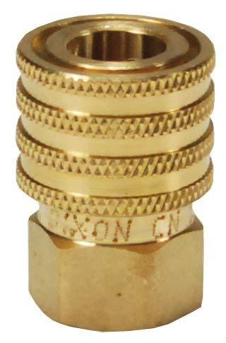 Dixon 1EF1-B 1//8 Straight-Thru Cplr 200079-1 1//8 NPTF Brass