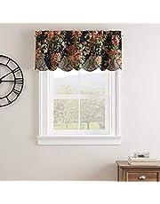 """WAVERLY Kensington Bloom ستائر نافذة صغيرة للحمام، غرفة المعيشة والمطابخ 52"""" x 18"""" 18679052018GEM"""