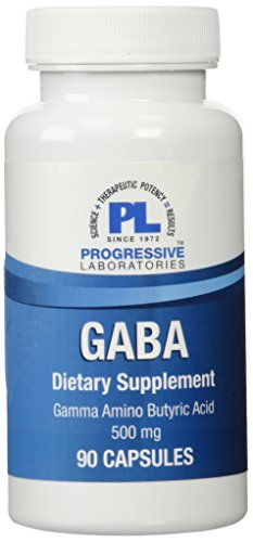 Progressive Labs Gaba Supplement, 90 Count