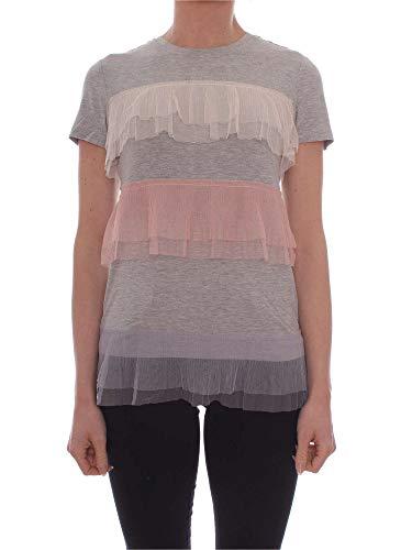 shirt Twin Algodon T Gris Mujer My Mp2230grey YIwxddO