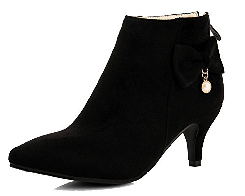HiTime A Alto Collo Winter 35 Donna Black Nero EU ZwOFxZU