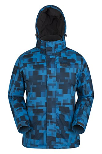Mountain Warehouse Shadow Mens Printed Ski Jacket - Snowproof, Extra...