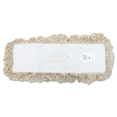 (Boardwalk Industrial Dust Mop Head, Hygrade Cotton, 18w x 5d, White (BWK1318) )