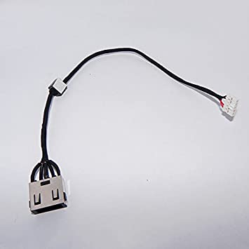 New DC Jack Power Plug In Charging Port Connector Socket with Wire Cable Harness Replacement for Lenovo Ideapad Yoga 2 13 SERIES DC30100Q500
