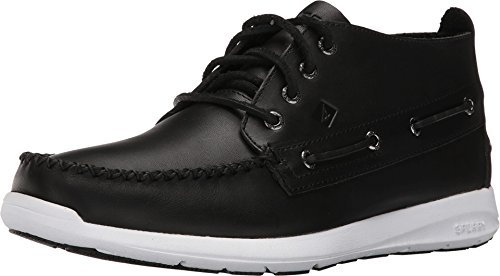 Sperry Top-Sider Men's Sojourn Chukka Boot (11 D(M) US, Black)