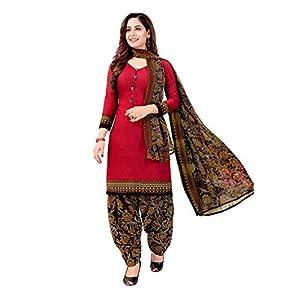 Printed Unstitched Salwar Suit