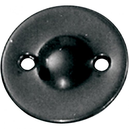Paughco Dimpled Inspection Cover - Black B758