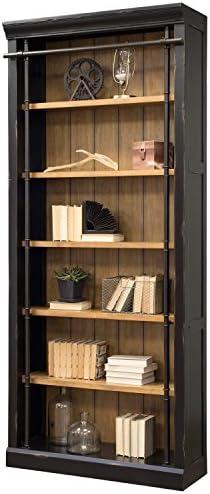 Martin Furniture Fully Assembled Aged Ebony Toulouse Bookcase,