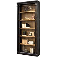 Martin Furniture IMTE4094 Fully Assembled Aged Ebony Toulouse Bookcase