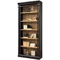 Martin Furniture IMTE4094 Fully Assembled Aged Ebony Toulouse Bookcase