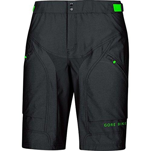 Gore Bike WEAR, Men´s, Padded Mountain Bike Shorts, Gore Selected Fabrics, Power Trail Shorts+, Size XL, Black, TPOWSH
