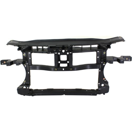 Replacement Radiator Support Assembly - Garage-Pro Radiator Support for VOLKSWAGEN PASSAT 06-10 Assembly Black Plastic