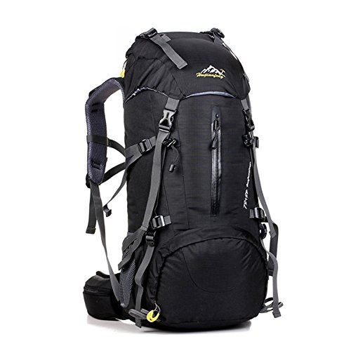 UMEICOOL 50L Mountaineering Backpack High-capacity Professional Waterproof  Outdoor Sports Hiking Rock Climbing Camping Backpack With Rain Cover For  Adults ... dd7ccad80934e