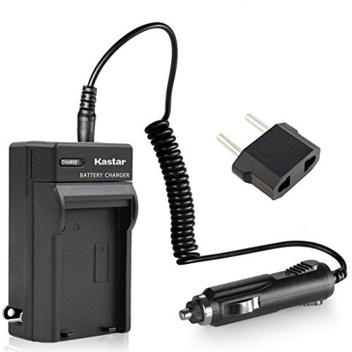 Kastar Travel Charger Kit for Sony NP-F570 NP-F550 NP-F330 and CCD-RV100 RV200 SC5 SC9 TR1 TR215 TR940 TR917 Camera, CN-126 CN-160 CN-216 CN-304 VL600 YN 300 LED Video Light or Moniter Backup Battery