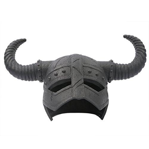 TES5 Dragonborn Dragon Mask Helmet Cosplay Costume Props DIY Adult Version
