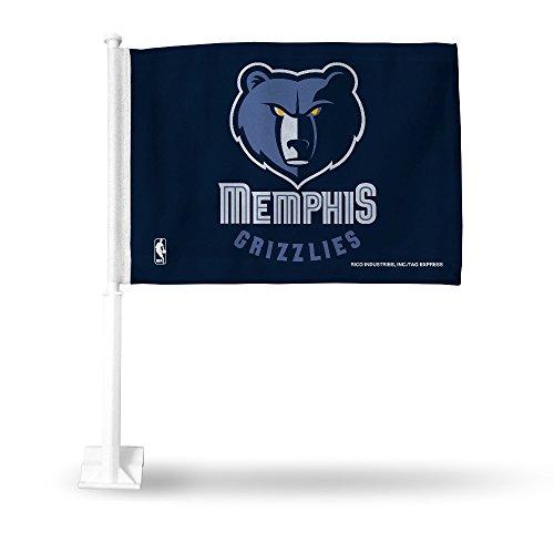 - Rico Memphis Grizzlies NBA 11X14 Window Mount 2-Sided Car Flag