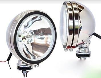 Hella  12V  Rückfahrscheinwerfer   Verchromt   Chrom  Oldtimer