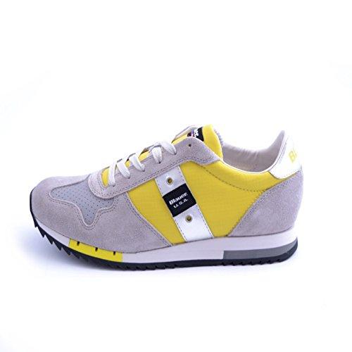Blauer shoes 7SRUNLOW/TOP Sneakers Man Yellow 45