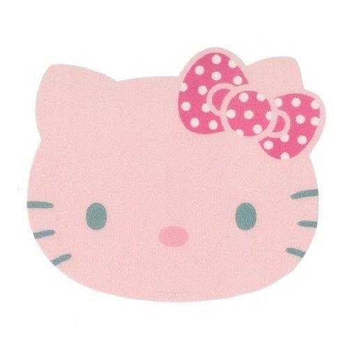 Hello Kitty(S-08) Slim Anti-slip Mouse Pad Computer Mice Mat Mousepad (Pink)