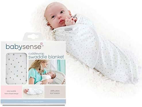 Baby Sense Cuddlewrap Swaddle Blanket Baby Wrap (Stone)